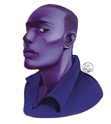 Etude Blue Boy