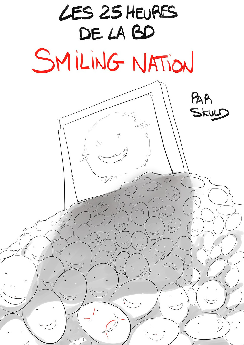 Les 25 Heures de la BD: Smiling Nation