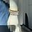 Thumbnail: Large Silver or Gold Beaded Bracelet
