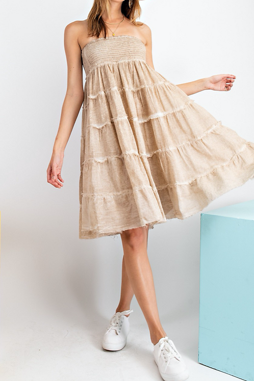 Ruffled Skirt or Mini Dress