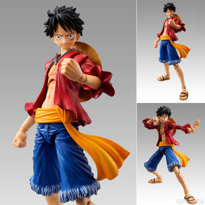 Variable Action Heroes One Piece Monkey D Luffy Action Figure