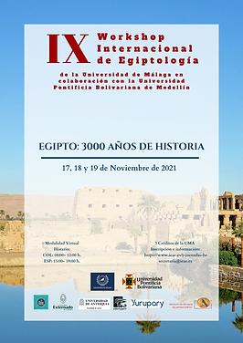I JORNADAS HISPANOAMERICANAS DE EGIPTOLOGIA EGIPTO 3000 AÑOS DE HISTORIA Bogotá - Luxor -