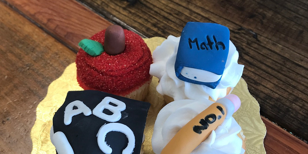 Kid's Decorating Class - Back to school cupcakes