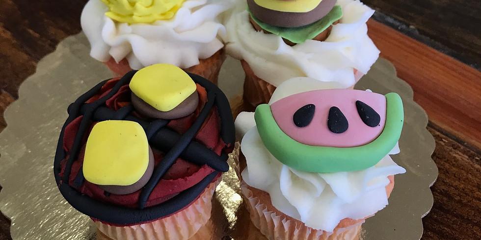 Kid's Decorating Class - Summer Fun Cupcakes