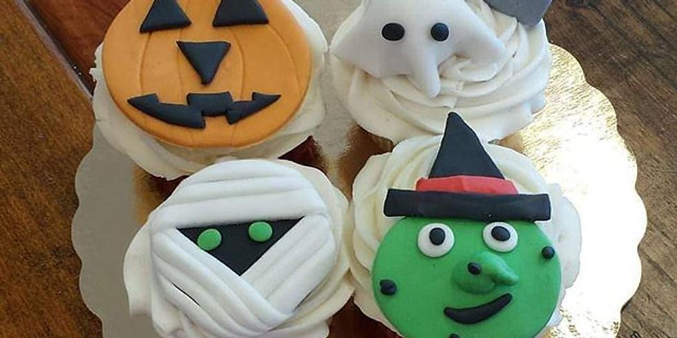 Kid's Decorating Class - Cute Halloween cupcakes