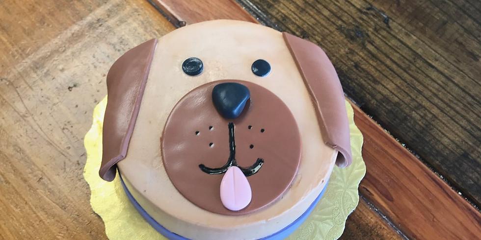Kid's Decorating Class - Dog Cake