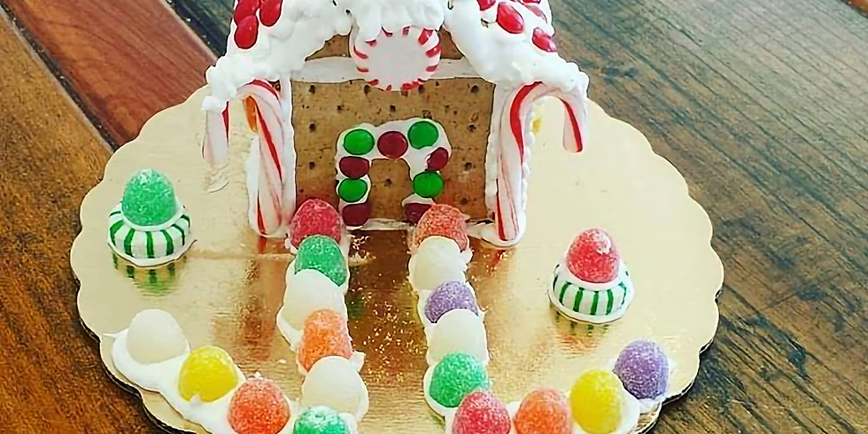 Kid's Decorating Class - Gingerbread house