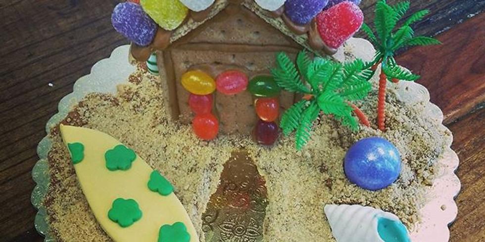 Kid's Decorating Class - Santa's Beach House