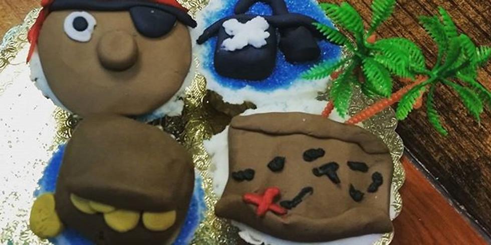 Kid's Decorating Class - Pirate Cupcakes