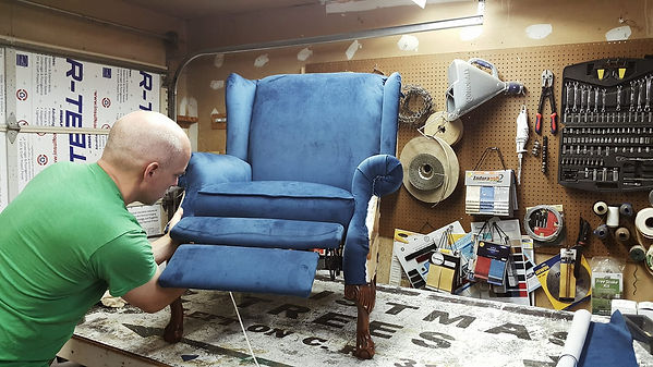 Bryan Edmonson - Fort Worth Upholstery Shop