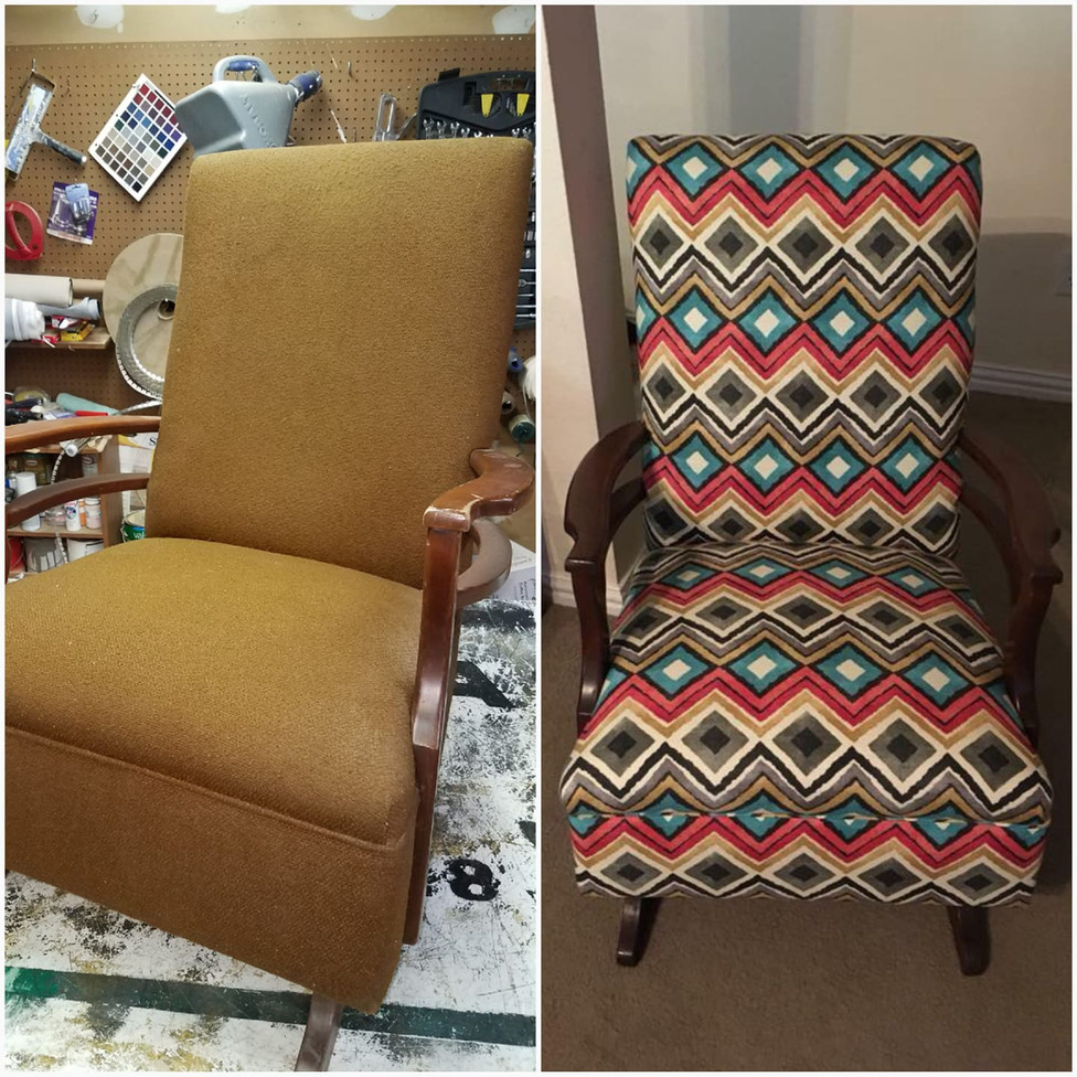 Upholstery rehab fort worth chair