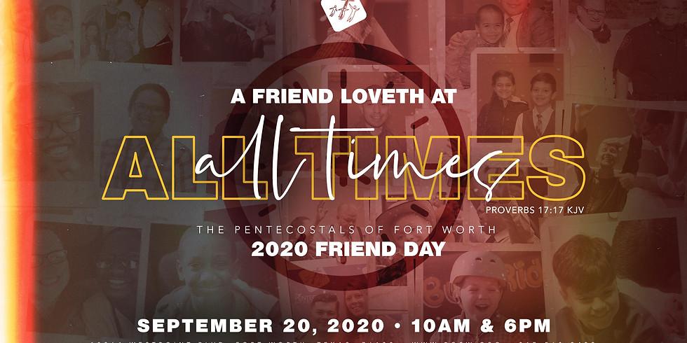 2020 POFW Friend Day