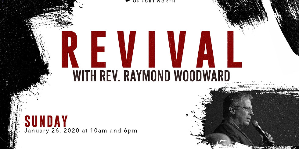 Revival with Rev. Raymond Woodward