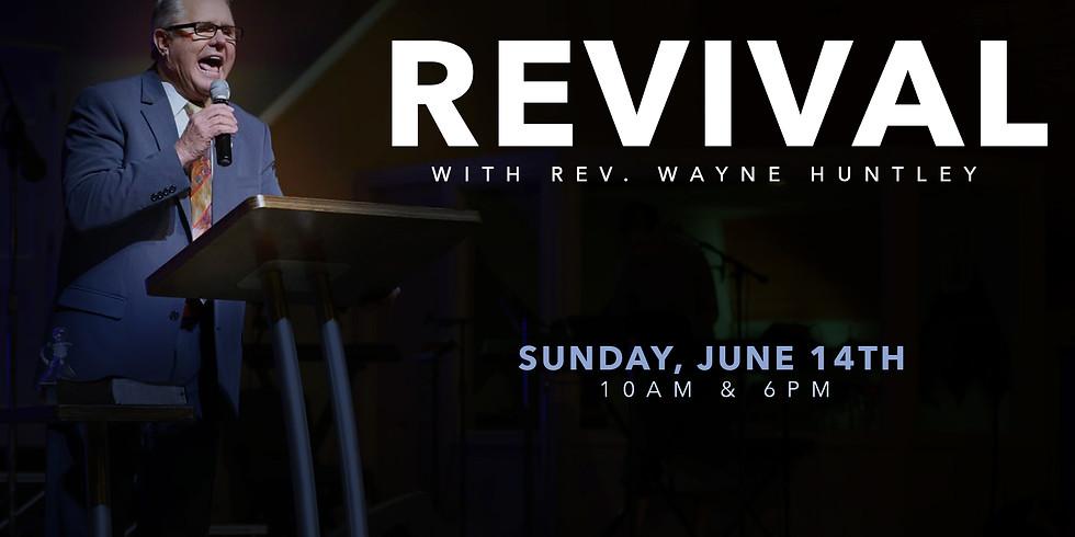 Revival with Rev. Wayne Huntley