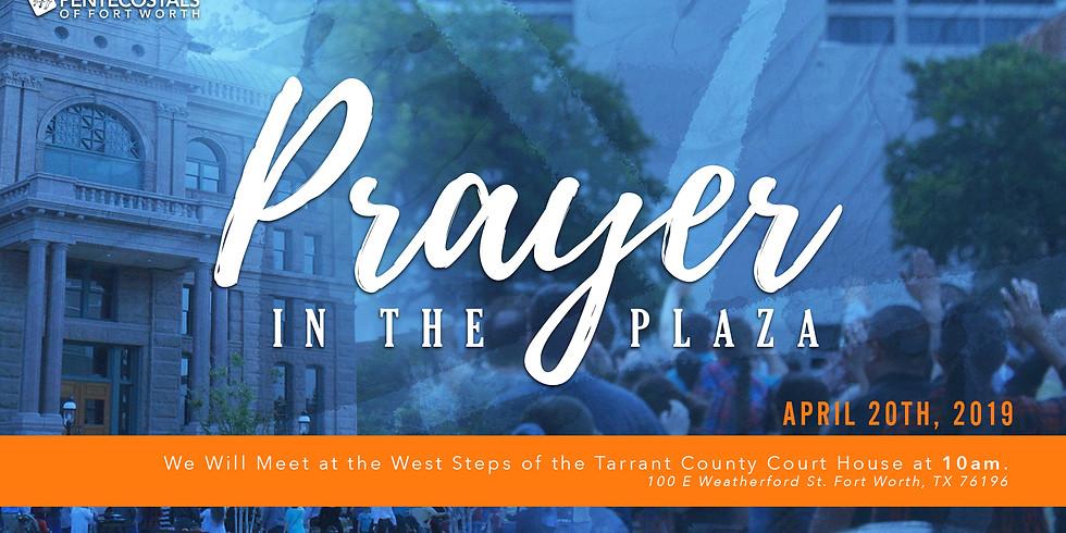 Prayer in the Plaza