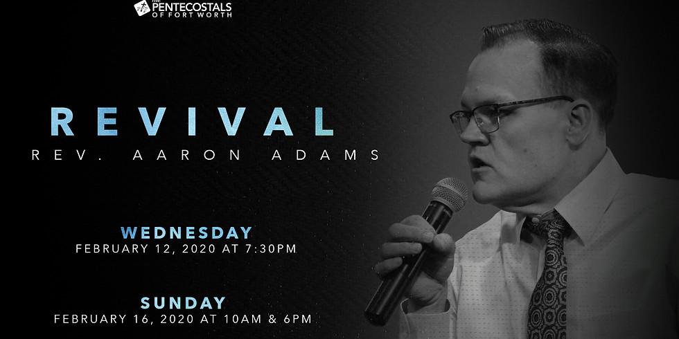 Revival with Rev. Aaron Adams