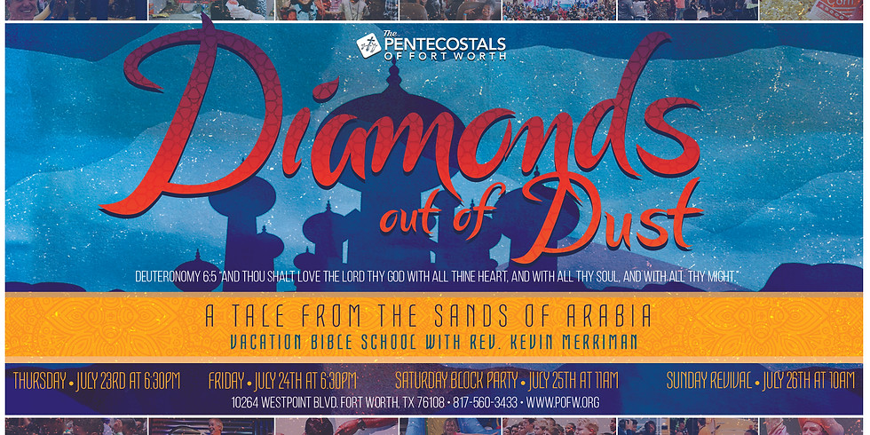 """""""Diamonds Out of Dust"""" VBS"""