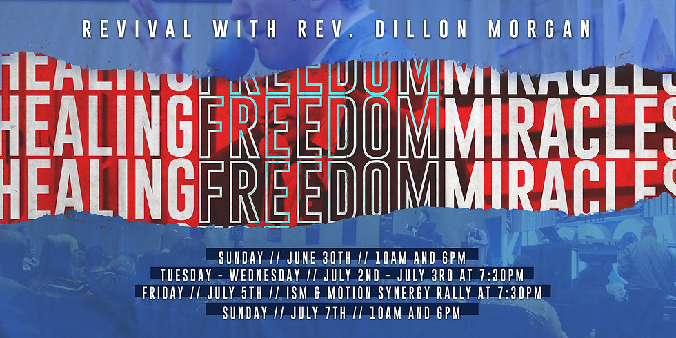 Revival with Rev. Dillon Morgan