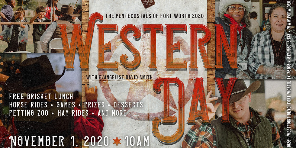 The POFW Annual Western Day with Evangelist David Smith