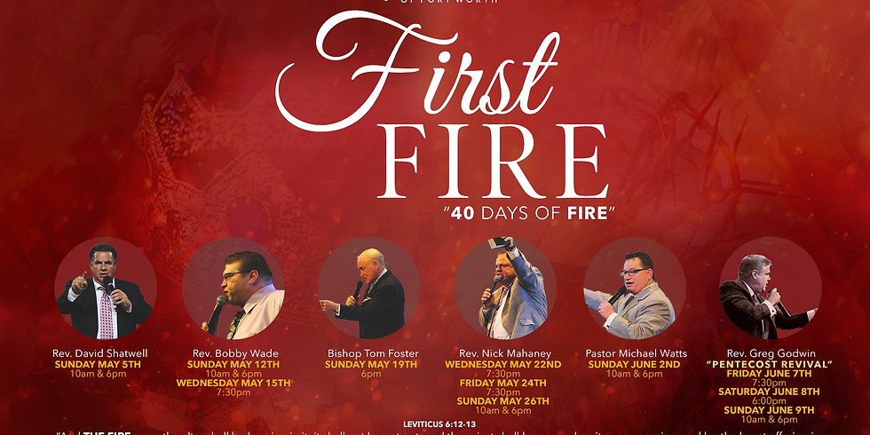 FIRST FIRE Revival Services