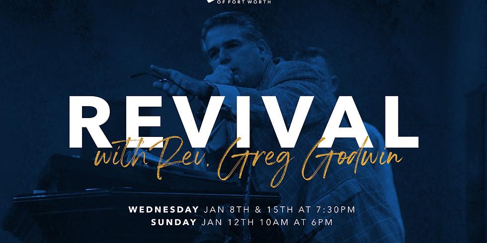 Revival with Evangelist Greg Godwin