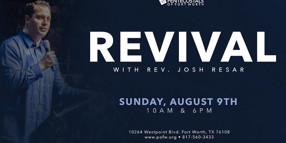 Revival with Rev. Josh Resar