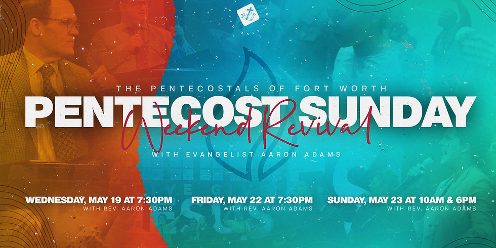 Pentecost Sunday Revival