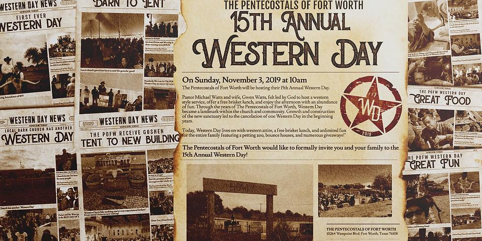 2019 Western Day