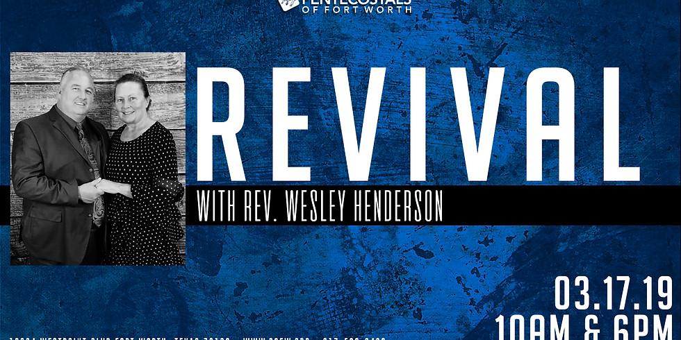 Rev. Henderson Revival