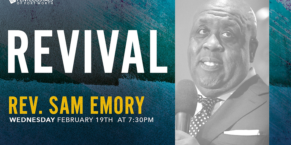 Revival with Rev. Sam Emory