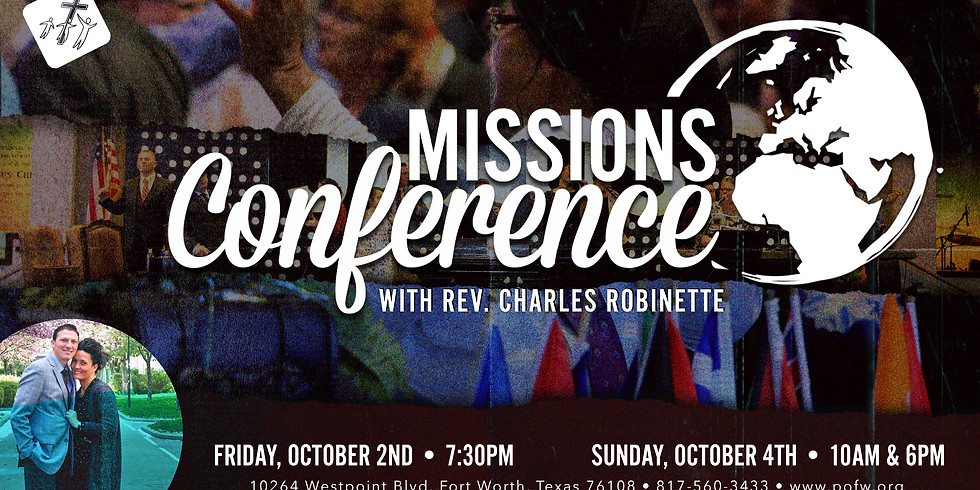 Missions Conference with Rev. Charles Robinette
