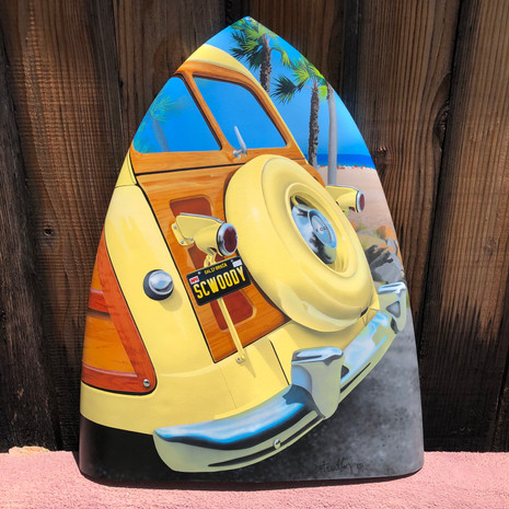 '51 Ford Country Squire Wagon Nose Art