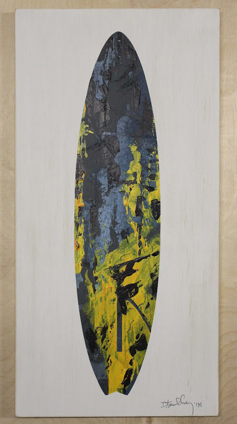 Abstract Surfboard Study