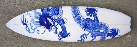 Japanese Dragon board