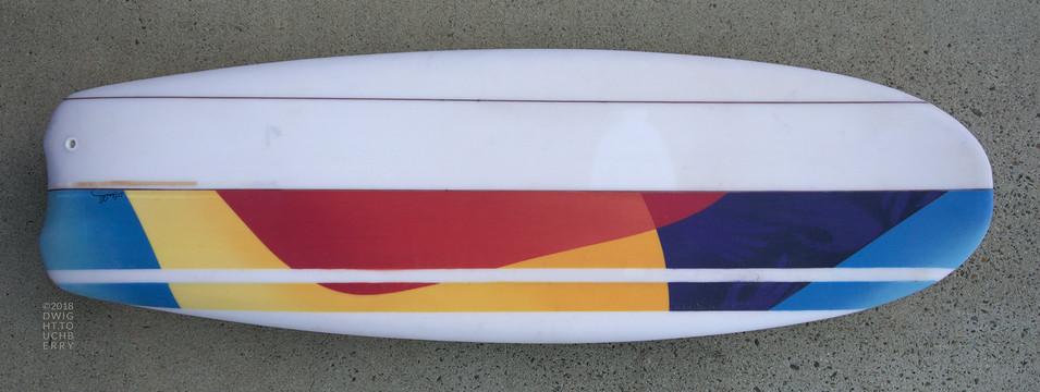 Abstract custom fun board