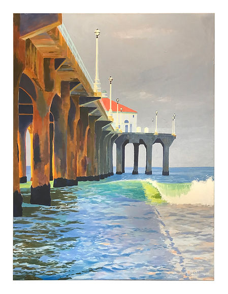 North Side, Manhattan Beach Pier