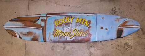 Rocky Mtn. Moonshine board
