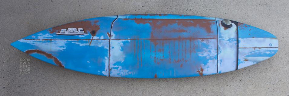 '54-56 GMC Pickup board