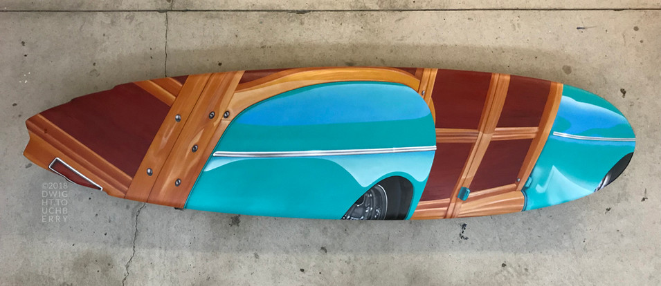 '42 Ford Woody board