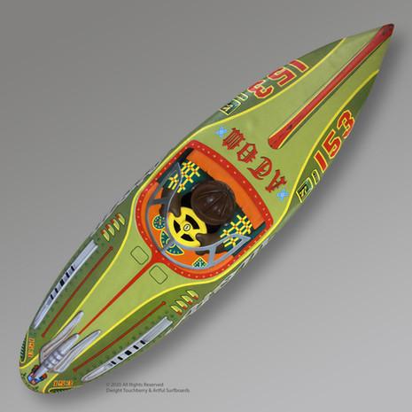 Atom Tin Toy 153 Board