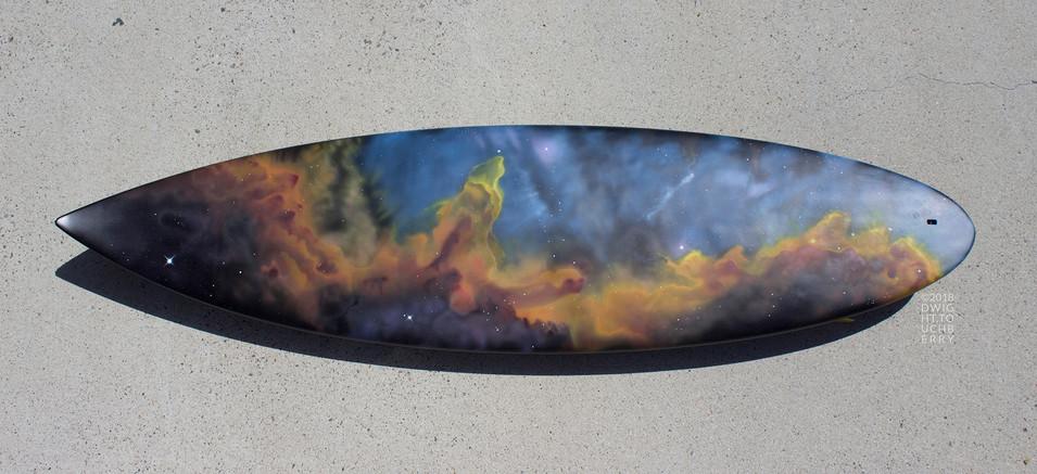 Cygnus Wall Nebula - board