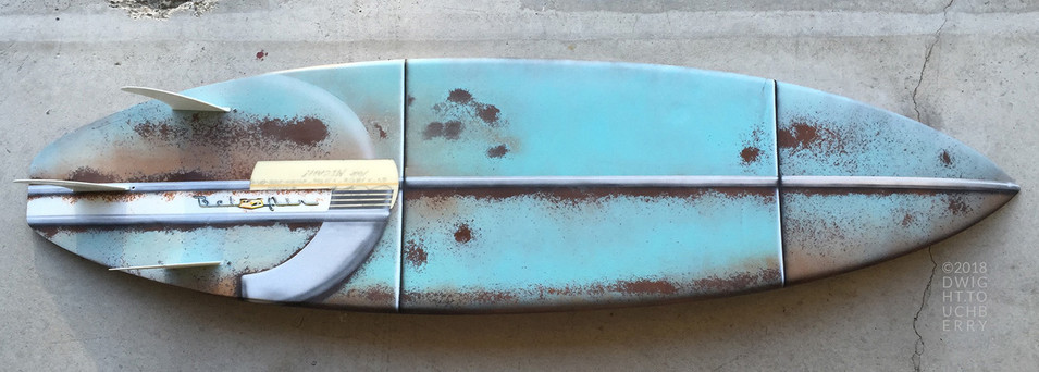 '54 Chevy Bel Air board