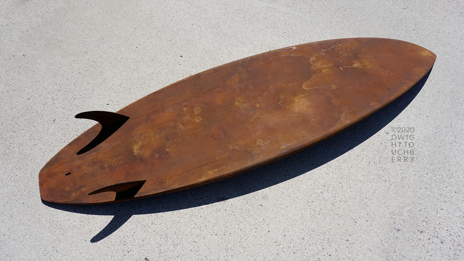 Rusted Board #1 - Bottom