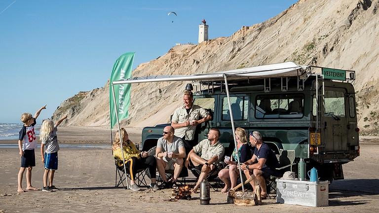 Vestkyst Safari i 4 hjulstrukne køretøjer - Løkken
