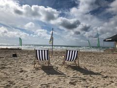 Schöne Tage an Strand