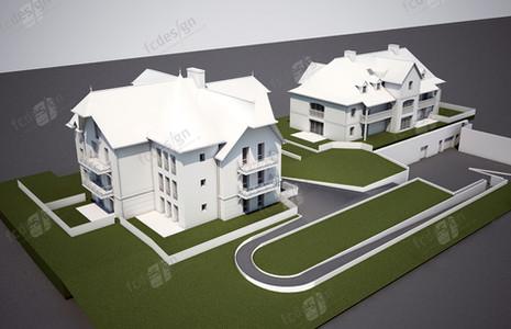 Infographie 3D - Architecture extérieure