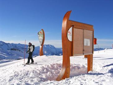 Mise en avant de l'espace nouvelles glisses SLIDE des 2 Alpes
