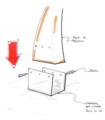 Design produit : Mise en avant de l'espace nouvelles glisses SLIDE des 2 Alpes