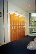 Design produit - Présentoir hall d'accueil C.A. INDOSUEZ
