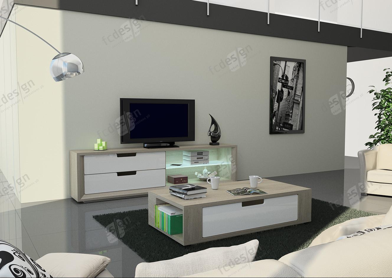 Infographie 3D - Salon
